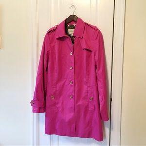 Banana Republic Pink Trench Coat